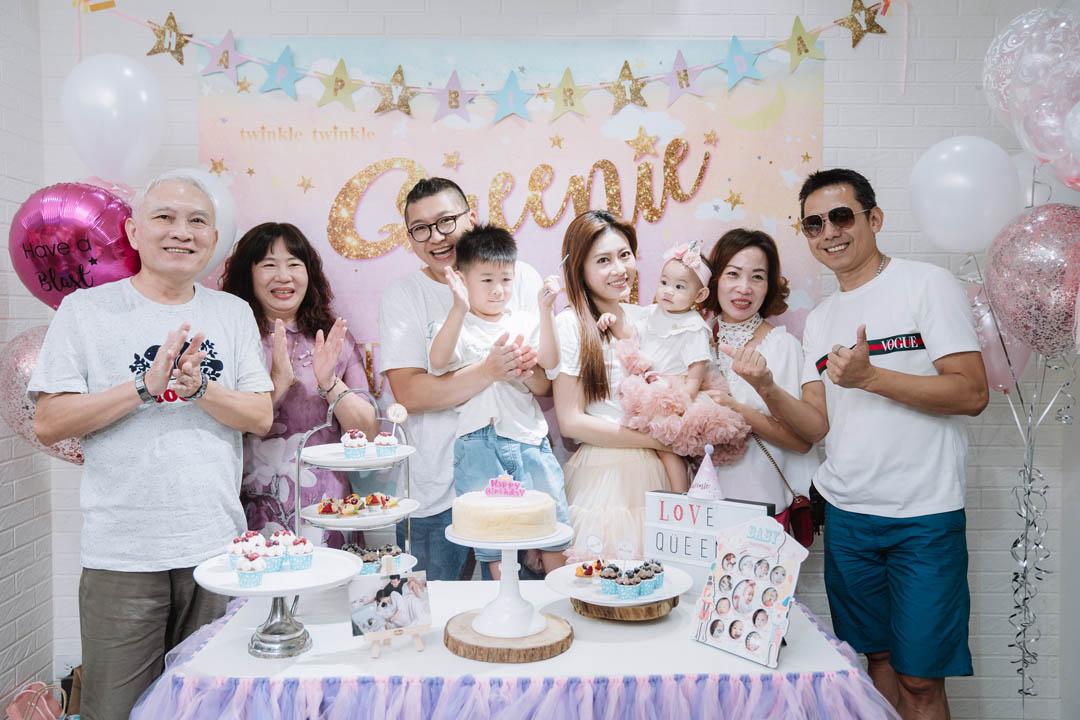 birthday,慶生會,慶生派對,抓周,potrait,家庭寫真,全家福